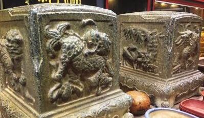 福州古玩市场调查:一对石雕门当市场叫价20万